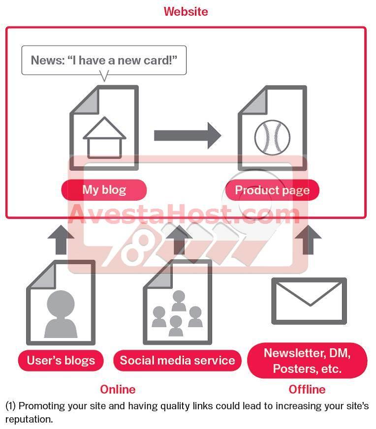 website- social media
