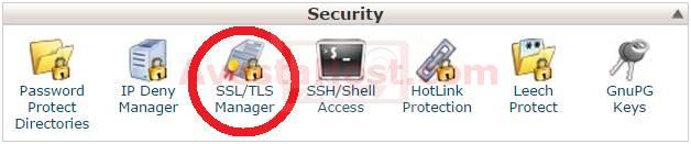 نصب گواهینامه SSL در cPanel